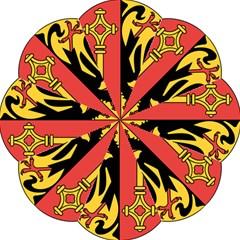 Coat Of Arms Of Geneva Canton  Straight Umbrellas