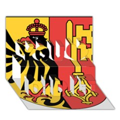 Coat of Arms of Geneva Canton  You Did It 3D Greeting Card (7x5)