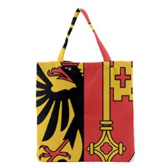 Coat of Arms of Geneva Canton  Grocery Tote Bag
