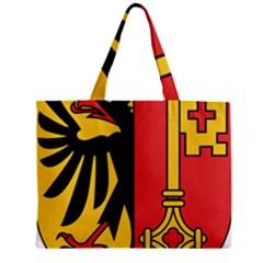 Coat Of Arms Of Geneva Canton  Zipper Mini Tote Bag