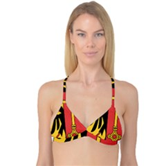 Coat of Arms of Geneva Canton  Reversible Tri Bikini Top