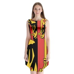Coat Of Arms Of Geneva Canton  Sleeveless Chiffon Dress