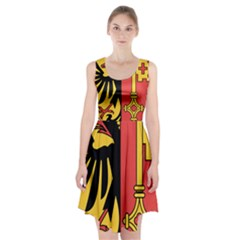 Coat Of Arms Of Geneva Canton  Racerback Midi Dress