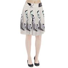 FrankenHeart Pleated Skirt