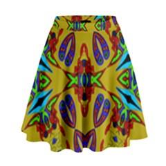Uk,  (2),u High Waist Skirt