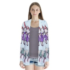 Fizzy Lifting Drape Collar Cardigan
