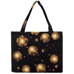 Golden balls Mini Tote Bag