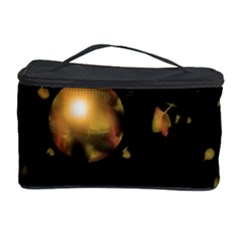 Golden balls Cosmetic Storage Case