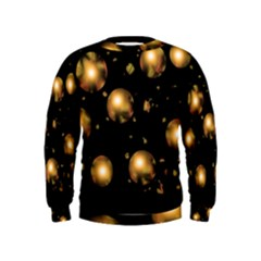 Golden balls Kids  Sweatshirt