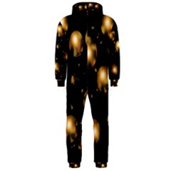 Golden balls Hooded Jumpsuit (Men)