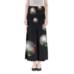 Silver Pearls Maxi Skirts