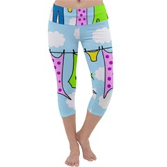 Laundry Capri Yoga Leggings