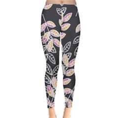 Winter Foliage Winter Leggings
