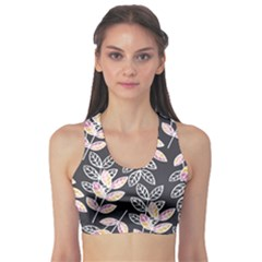 Winter Foliage Sports Bra