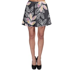 Winter Foliage Skater Skirt