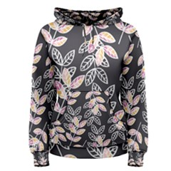 Winter Foliage Women s Pullover Hoodie