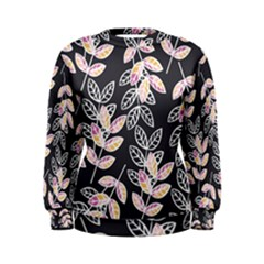 Winter Foliage Women s Sweatshirt