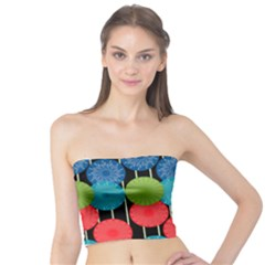 Vibrant Retro Pattern Tube Top