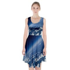 Space Photography Racerback Midi Dress