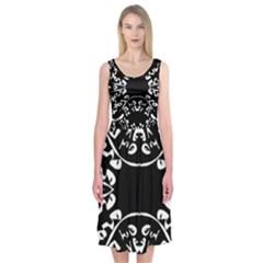 PLIGHT Midi Sleeveless Dress