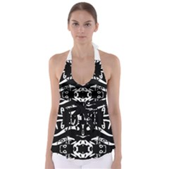The Only One Is Free Babydoll Tankini Top