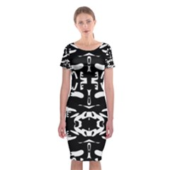 May 9 2016 100hhhl Kl; Classic Short Sleeve Midi Dress