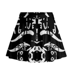 May 9 2016 100hhhl Kl; Mini Flare Skirt