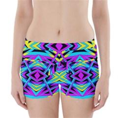 TIME WARP Boyleg Bikini Wrap Bottoms