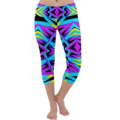 Time Warp Capri Yoga Leggings
