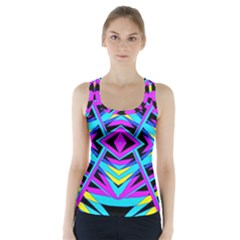 Time Warp Racer Back Sports Top