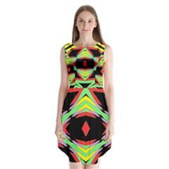 FRIDAY Sleeveless Chiffon Dress