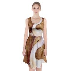 920-PELICAN Racerback Midi Dress