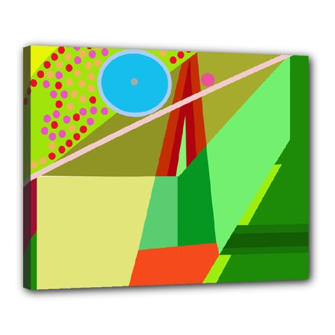Colorful abstraction Canvas 20  x 16