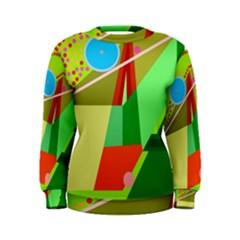 Colorful abstraction Women s Sweatshirt