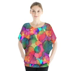 Rainbow Bubbles Blouse