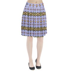 Soul Flower Pleated Skirt