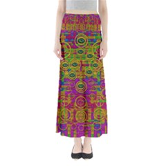 Carpe Diem In Rainbows Maxi Skirts