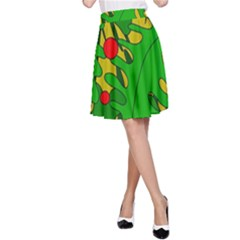 In the jungle A-Line Skirt