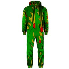 In the jungle Hooded Jumpsuit (Men)