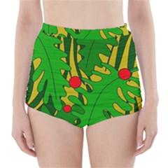 In The Jungle High Waisted Bikini Bottoms