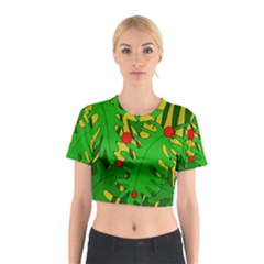 In The Jungle Cotton Crop Top