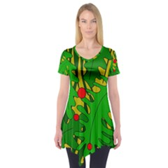 In the jungle Short Sleeve Tunic
