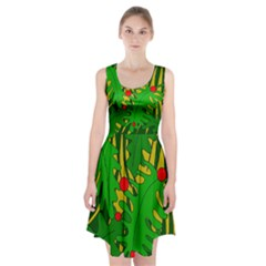 In the jungle Racerback Midi Dress