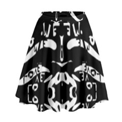 Hold White High Waist Skirt