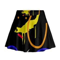 Crazy dream Mini Flare Skirt