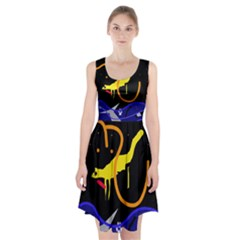 Crazy dream Racerback Midi Dress