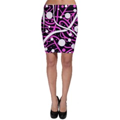 Purple harmony Bodycon Skirt