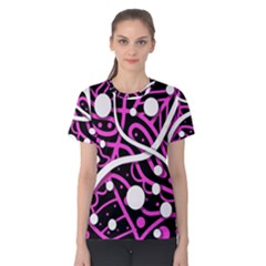 Purple harmony Women s Cotton Tee