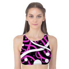 Purple harmony Tank Bikini Top