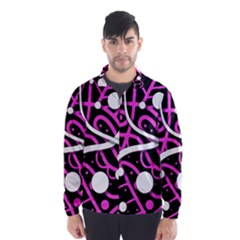 Purple harmony Wind Breaker (Men)
